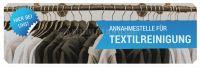 3:1 | Annahmestelle für Textilreinigung Werbetafel | Poster kaufen | 3 zu 1 Format