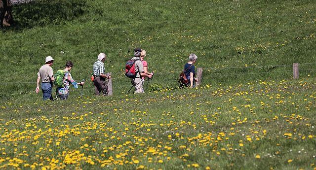 Outdoor und Freizeit Wandergruppe