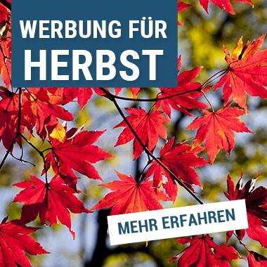 Werbung für den Herbst