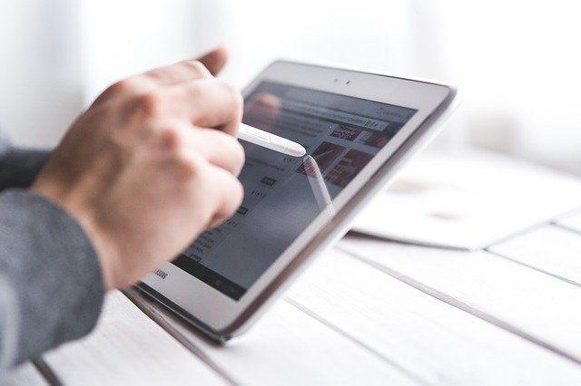 Touchpen für Monitore und Handys