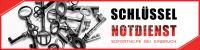 4:1 | Schlüssel Notdienst Plakat | Werbeschild für Schlüssel Notdienst | 4 zu 1 Format