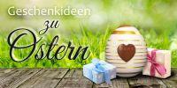 2:1 | Geschenkideen zu Ostern Werbetafel | Plakat online drucken | 2 zu 1 Format
