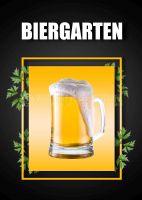 Biergarten Plakatwerbung | Poster kaufen