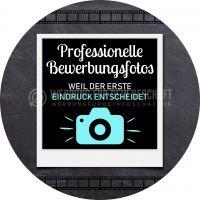 Rund | Bewerbungsfotos Plakat | Werbebanner für Fotogeschäft | Rundformat