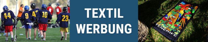 Banner für Textilwerbung