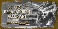 2:1 | KFZ Reparaturen aller Art Poster | Zu super Preisen! | 2 zu 1 Format
