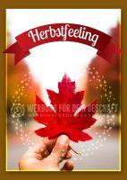 Herbstfeeling Poster | Werbeposter für Herbst