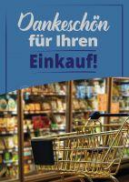Dankeschön für Ihren Einkauf Poster | Plakat