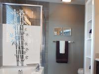 Sichtschutzfolie | Fensterfolie Bambus | Bambusoptik