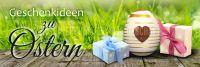 3:1 | Geschenkideen zu Ostern Werbetafel | Plakat online drucken | 3 zu 1 Format