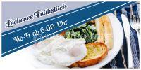 2:1   Leckeres Frühstück Poster   Werbeplakat für dein Geschäft   2 zu 1 Format