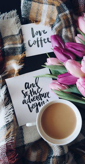 Dekorierter Kaffee