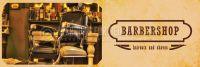 3:1 | Barbershop Werbeplakat drucken | Poster auch in DIN A 0 | 3 zu 1 Format