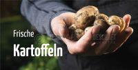 2:1 | Frische Kartoffeln Werbeposter | Werbung für Plakatständer | 2 zu 1 Format