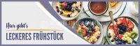 3:1 | Leckeres Frühstück Plakat | Werbeschild für dein Geschäft | 3 zu 1 Format