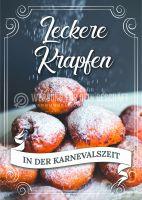 Leckere Krapfen Plakat | Werbeplakat für Bäckerei
