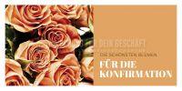 2:1   Blumen für die Konfirmation Poster   für Plakatständer   2 zu 1 Format