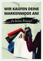 Markenmode Ankauf Werbeposter | Poster für Plakatständer