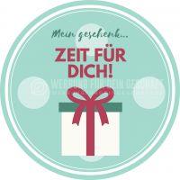 Rund | Mein Geschenk Plakat | Werbeplakat für Gutscheine | Rundformat