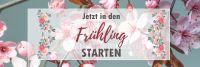 3:1 | In den Frühling starten Poster | Werbetafel für Frühling | 3 zu 1 Format