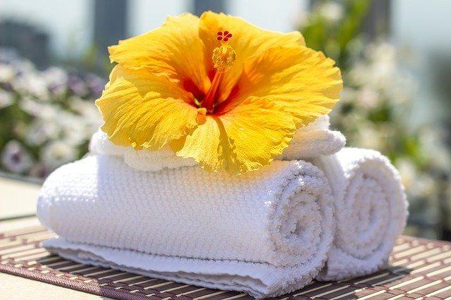 Badetextilien als Wellness Werbegeschenk