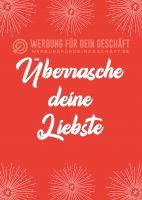 Überrasche deine Liebste Plakat | Werbeplakat für dein Geschäft