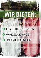 Reinigungsservice -Plakat