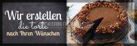 3:1 | Die Torte Ihrer Wünsche Poster | Werbebanner für Bäckerei | 3 zu 1 Format