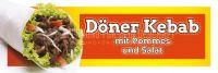 3:1 | Döner Kebab Menü Werbeplakat | Poster | 3 zu 1 Format