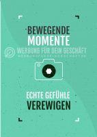 Bewegende Momente Poster | Werbeposter für Fotostudios