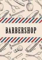 Barbershop Werbeplakat kaufen | Werbung für Plakatständer