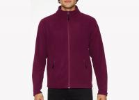 Fleece Jacke Männer inkl. einfarbigem Druck