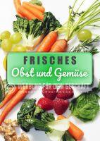 Obst und Gemüse Plakat | Werbeposter Obst und Gemüse