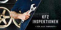 2:1 | KFZ Inspektion für alle Fabrikate Plakat | Werbeposter online drucken | 2 zu 1 Format