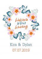 Welcome Wedding Poster | Plakat online drucken