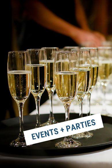 Veranstalte Events und Parties in deinem Laden