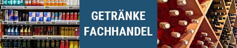 Banner für Getränkefachhandel