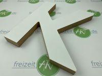 3D - MDF Holzbuchstaben | Buchstaben aus Holz | 19mm stark