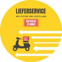 Rund | Kostenloser Lieferservice Werbeschild | Poster kaufen | Rundformat