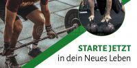 2:1 | Starte jetzt Poster | Werbebanner für Fitnessstudios | 2 zu 1 Format