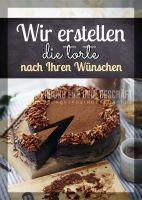 Die Torte Ihrer Wünsche Poster | Werbebanner für Bäckerei