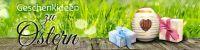 4:1 | Geschenkideen zu Ostern Werbetafel | Plakat online drucken | 4 zu 1 Format