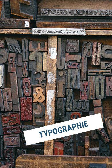 Sei dir bewusst welche Typografie du in deinem Logo nutzen möchtest