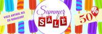 3:1 | Summer Sale Plakat | Viele Artikel reduziert | 3 zu 1 Format