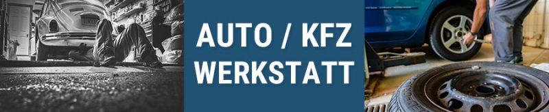 Autowerkstatt KFZ Banner