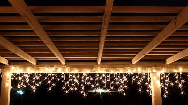 Lichterketten sind für die Dekoration sehr beliebt