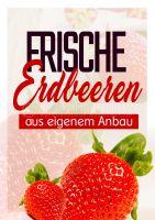 Erdbeeren Poster | Eigener Anbau
