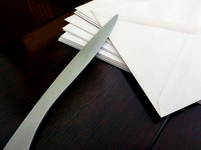 Brieföffner als Werbegeschenk