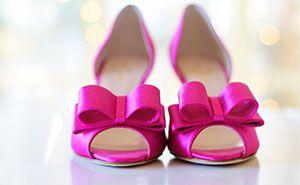 Ein Highlight in viele Schuhläden: Brautschuhe