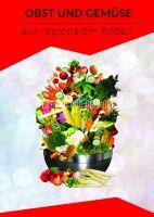 Obst und Gemüse Poster | Aus regionalem Anbau